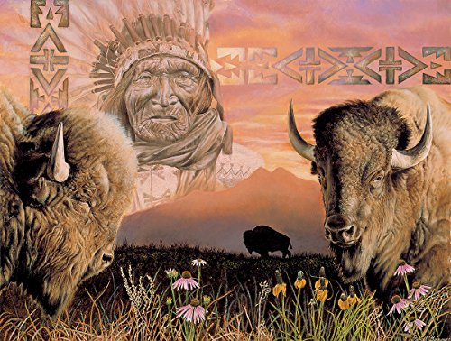 Keeper of the Plains 500 Piece Jigsaw Puzzle by SunsOut
