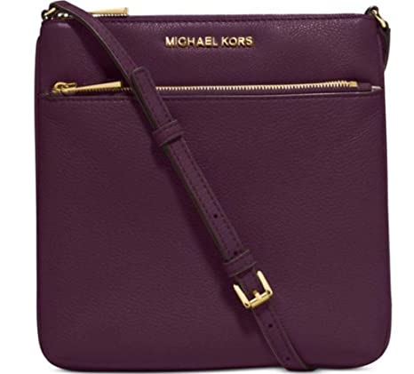 41f983b965751a MICHAEL Michael Kors Riley Small Pebbled-Leather Crossbody: Amazon.ca:  Shoes & Handbags