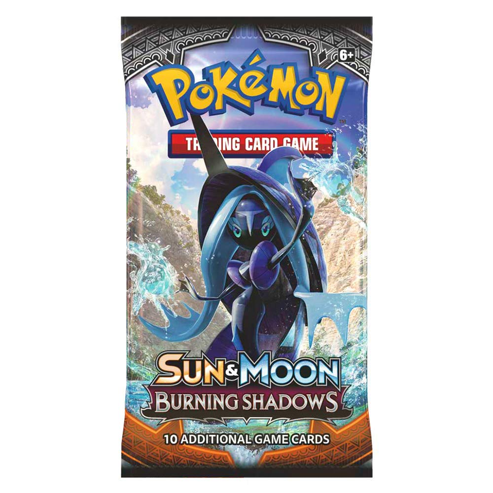 Pokemon 15071-S TCG Sun and Moon Burning Shadows Trading Card Booster Packet