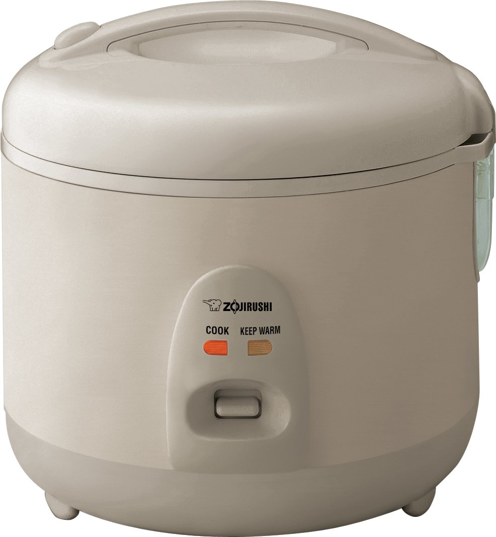 Zojirushi NSRNC10NL Automatic Rice Cooker and Warmer 5.5-Cup / 1.0-Liter, Champagne Gold
