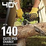 Greenworks G-MAX 40V 16-Inch Cordless Chainsaw, 4AH