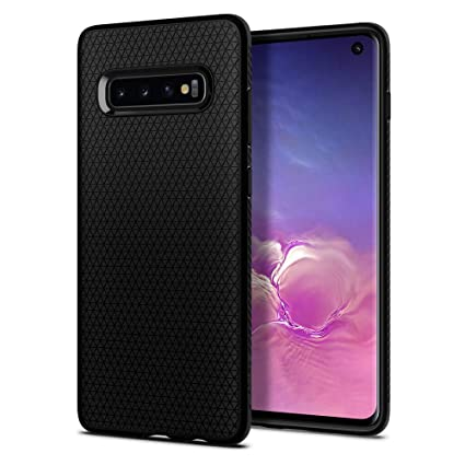 Spigen Liquid Air Armor Designed for Samsung Galaxy S10 Case (2019) - Matte Black