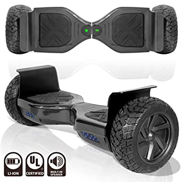 Amazon.com: TechClic Scooter Eléctrico Terreno Rugged 8.5 ...