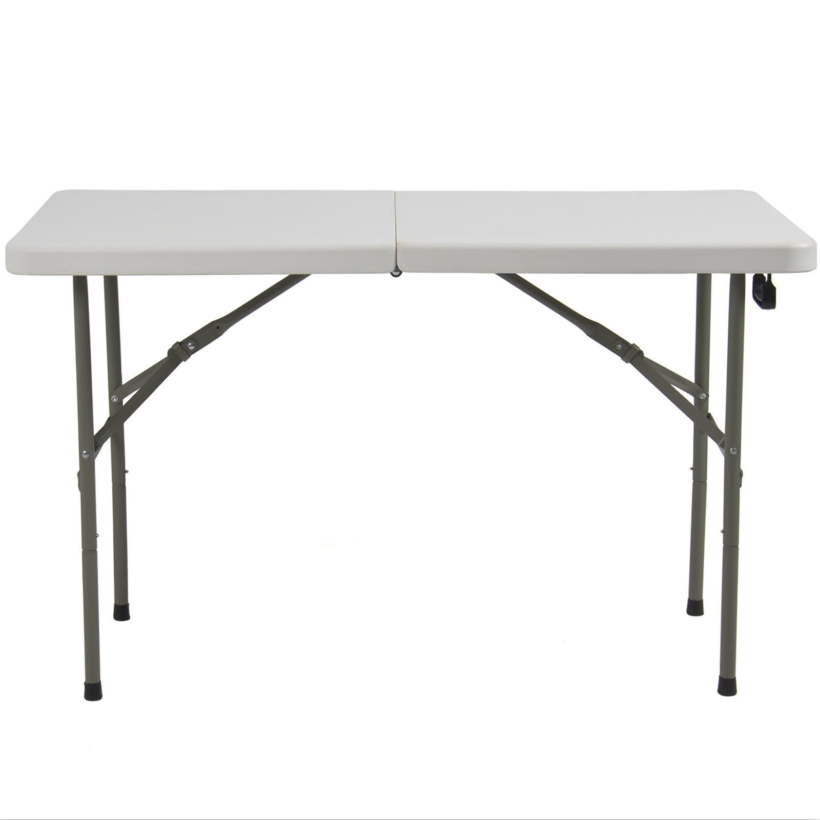 Eight24hours Folding Table 4' Portable Plastic Indoor Outdoor Picnic Party Dining Camp Tables + FREE E-Book
