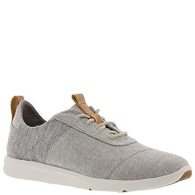 c1228920f7c Amazon.com | TOMS Women's Cabrillo Drizzle Grey Chambray Mix Sneaker ...