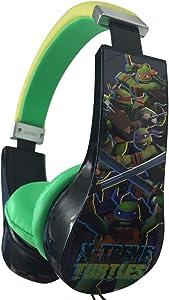 Teenage Mutant Ninja Turtles Kids Safe Headphones - High Spec Kids Safe Headphones