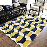 Rug 3d carpet Bedroom Rug Pastoral Rugs Nordic carpet Washed carpet Carpet wear-resistant120170cm47x67inch-A 63x91inch(160x230cm)