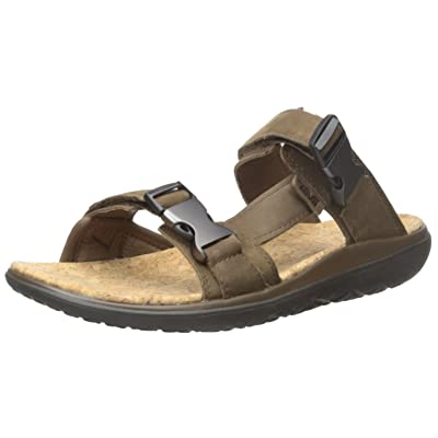 Teva Men's Terra-Float Lux Leather Slide | Sport Sandals & Slides