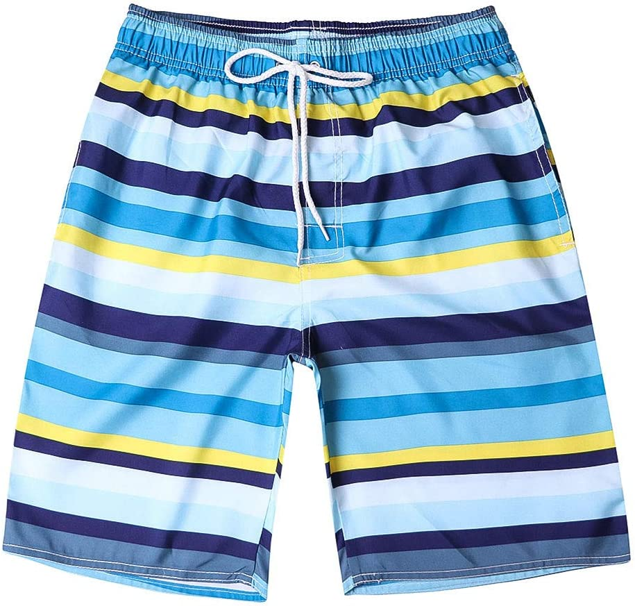 Men Swim Trunks,Candy Color Beach Broad Shorts Drawsring Work Casual Trouser Pockets Short Boxer Zulmaliu