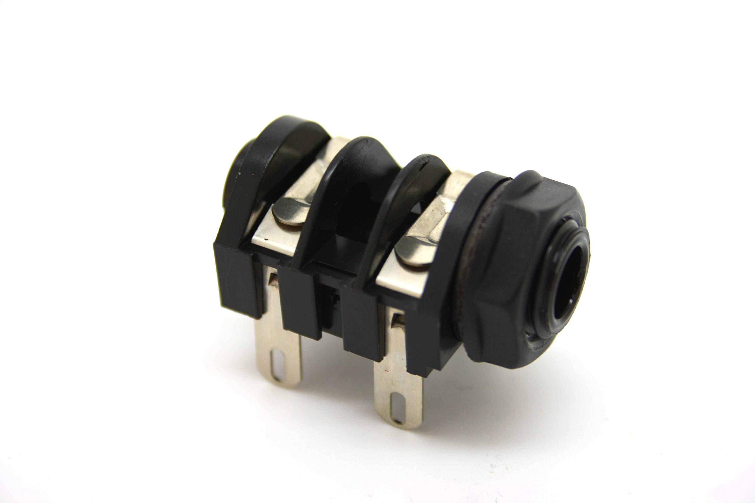 Jack - Mono Input, Black Plastic Nut, Cliff UK, Replacement for Marshall