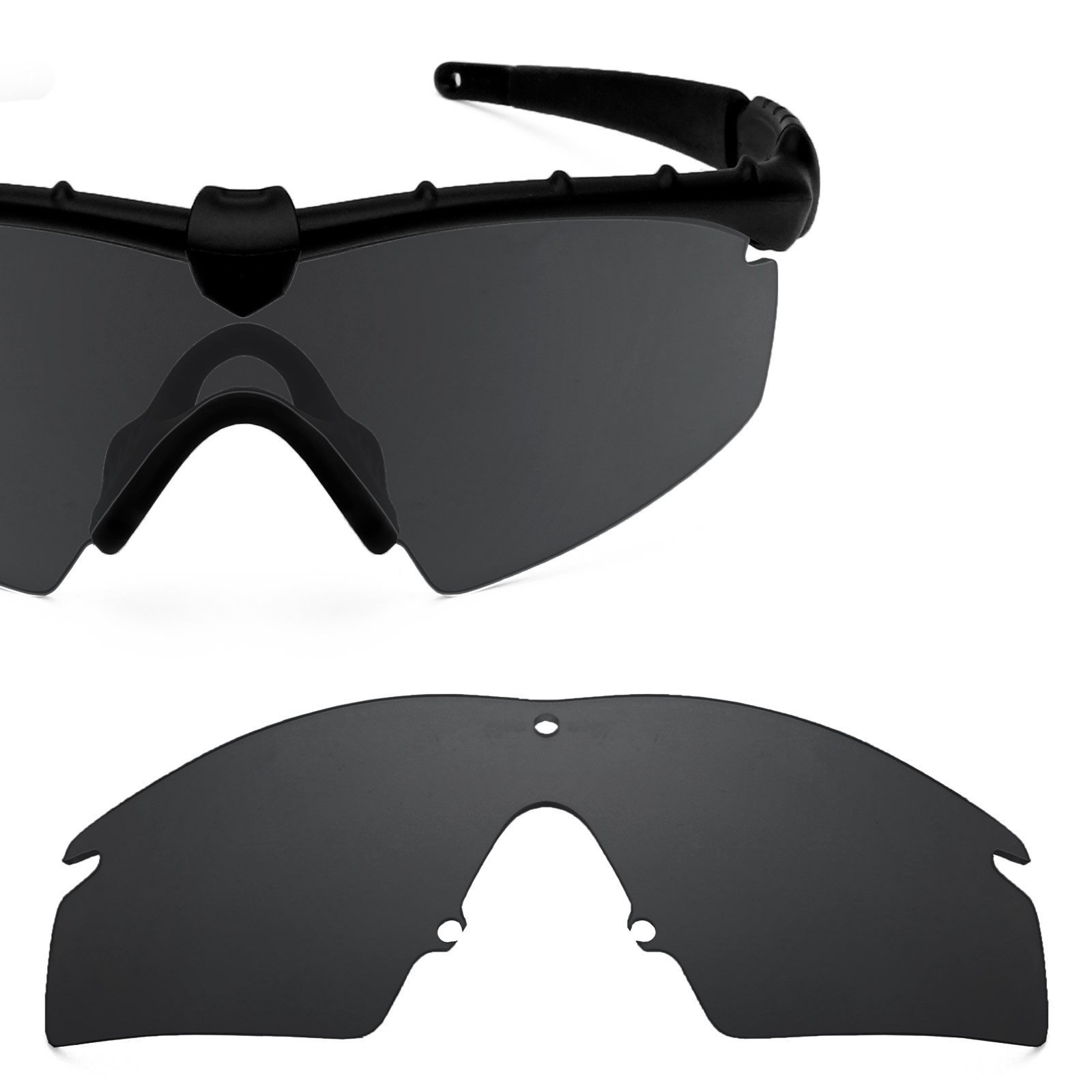 Revant Polarized Replacement Lens for Oakley M Frame 2.0 Strike Elite Stealth Black by Revant