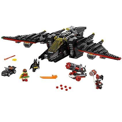 Amazon.com: LEGO BATMAN MOVIE The Batwing 70916 Building Kit: Toys ...
