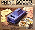 Print Gocco Professional Quality Home Printing Kit