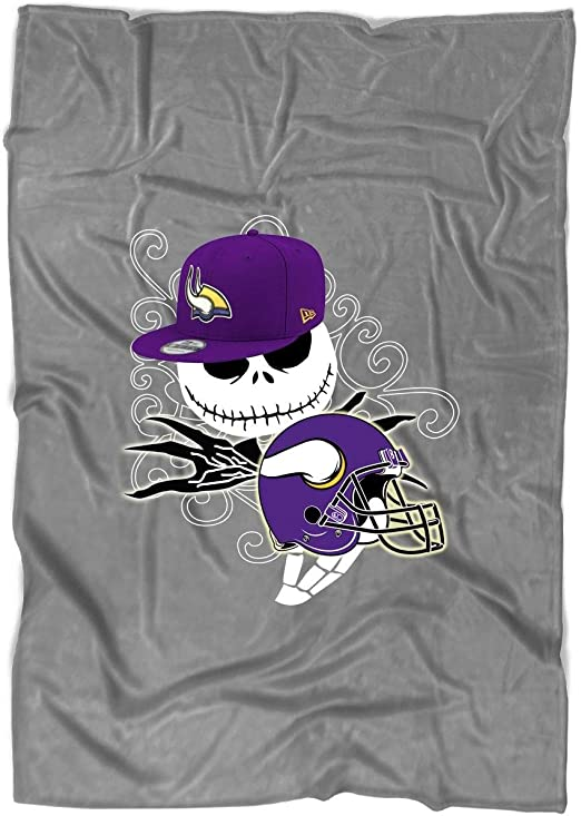 Amazon Com Toletore Minnesota Vikings Blanket For Bed And Couch