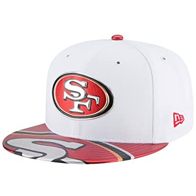 New Era Men Caps Fitted Cap NFL Offical On Stage San Francisco 49ers White 7 70df5fa9d