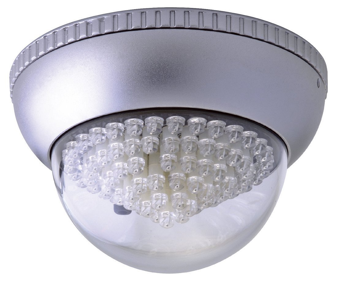 Cop Security 15-IL04 DC 12V/ AC 24V Indoor Wide Angle Infrared Illuminator (Silver) [並行輸入品] B01HONOU4W
