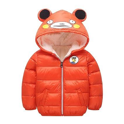 595725c5d295d AIKSSOO 新生児 ダウンコート 軽量 厚手 男の子 女の子 子供 ダウンジャケット 冬用 フード付き 防寒