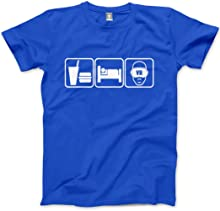 HotScamp Eat Sleep Virtual Reality VR - Mens Unisex T-Shirt