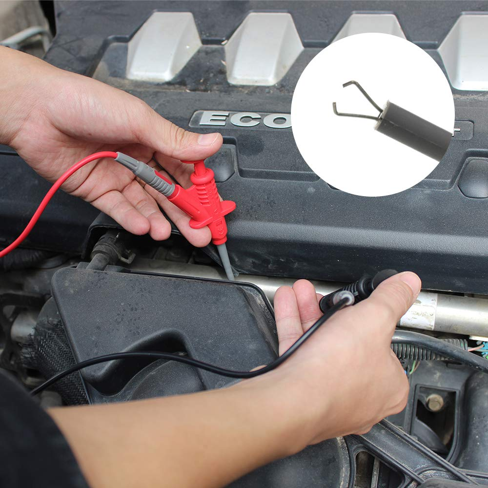 Replaceable Multimeter Probes Alligator Clips Electrical Multimeter Test Leads Kit Test Hook 1000V 10A CAT.II
