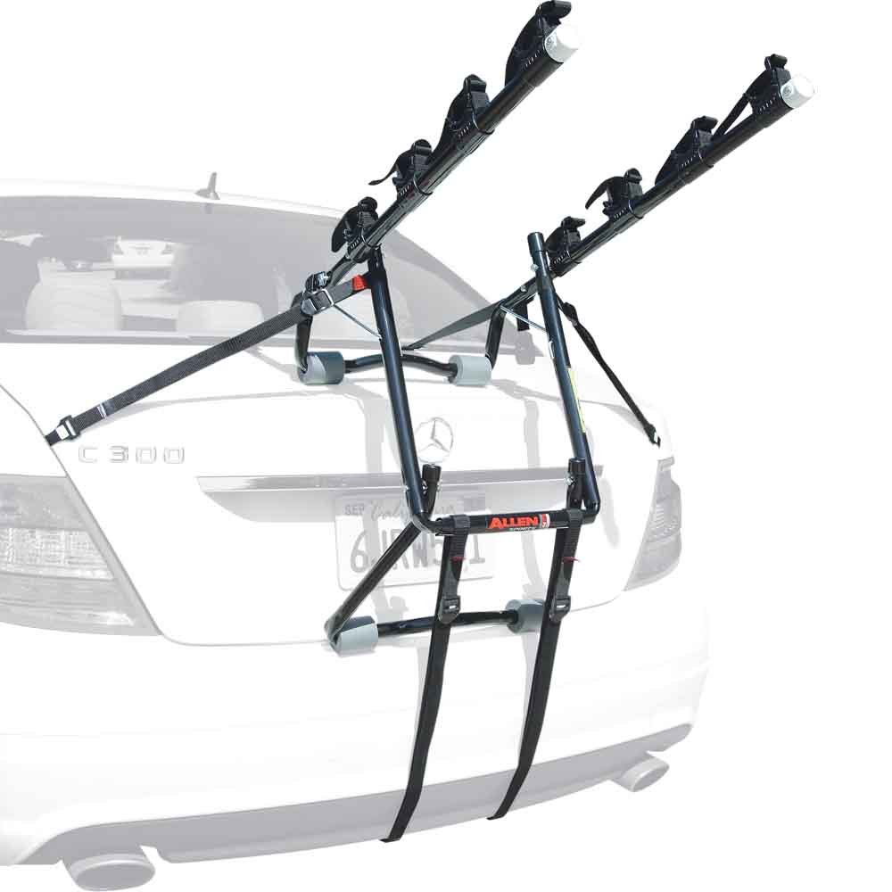Amazon.com : Allen Sports Deluxe 4-Bike Trunk Mount Rack Automotive Bike Racks
