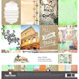 """Paper House Paper Crafting Kit 12""""X12""""-Italy"""