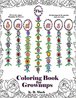 the badass coloring book for grownups 50 designs of swear words flowers mandalas puzzle quilts anti stress swear word coloring volume 1 k b - Coloring Book For Grown Ups