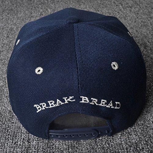 azul Belsen para azul hombre Talla única béisbol de Gorra gnqxwrXg