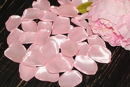 Amazon Com Light Pink Petals Satin Rose Petals Icy Pink