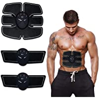 HARI OM CREATION Body Mobile-Gym 6 Pack EMS Tummy Flatter, Weight loss Muscle Toning/Fitness Technology Kit 6 Pack Abs, Wireless Electro Pad Portable Gym Trainer for Men/Women