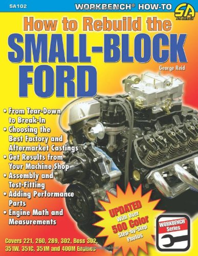 How to Rebuild the Small-Block Ford (S-A Design) (Best Small Block Ford Engine)