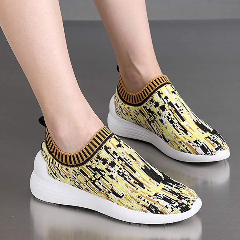 HOUMENGO Zapatos Deporte Mujer Nieve Zapatillas de Deportivos Zapatos Running Deportivos Fitness Correr Casual Ligero Comodos Respirable Sneakers Casual Rebajas Deporte Exterior Calzado: Amazon.es: Zapatos y complementos