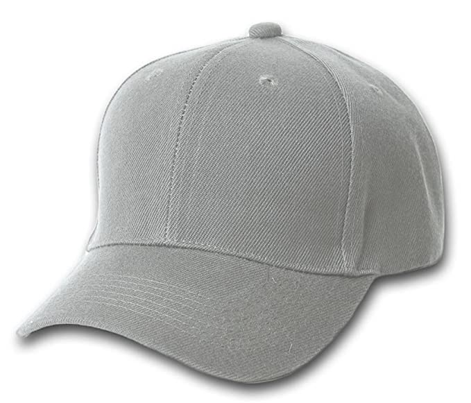 TOP HEADWEAR Baseball Cap Hat- Grey at Amazon Men s Clothing store ... f61aa754173
