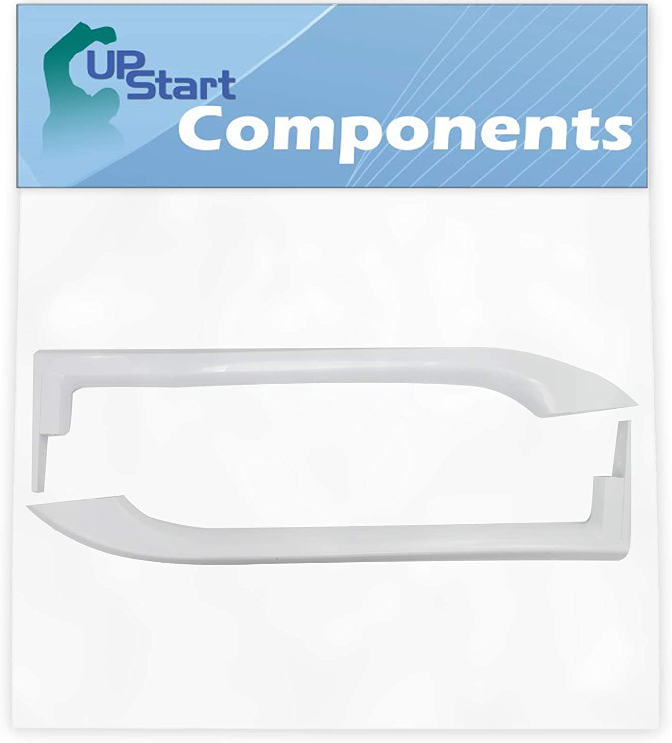 5304486359 Refrigerator Door Handles Set Replacement for Frigidaire FFHT2117LW7 Refrigerator - Compatible with 5304486359 White Door Handles - UpStart Components Brand