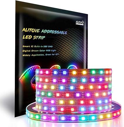 5meters WS2812B Led Lights WS2812 RGB Led Strip Light Address arduino WS2811