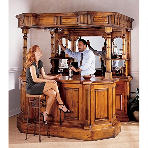British West Midlands Tewkesbury Inn Pub Bar Home Furniture by XoticBrands (Image #3)