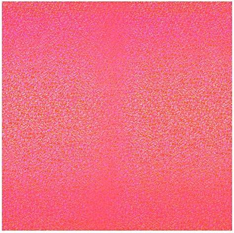 ラジカルアート コンサート応援用フィルムシート スパークル 30cm角 蛍光レッド