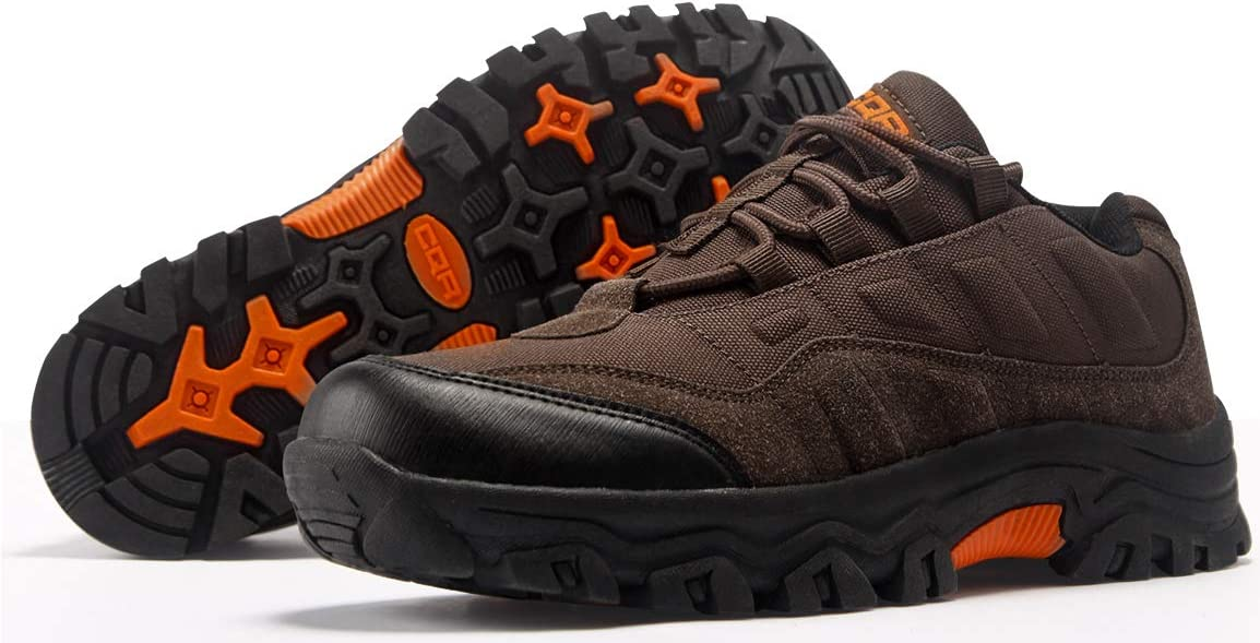 CQR Mens Outdoor Hiking Running Tactical Utility EDC Trekking Training Shoes