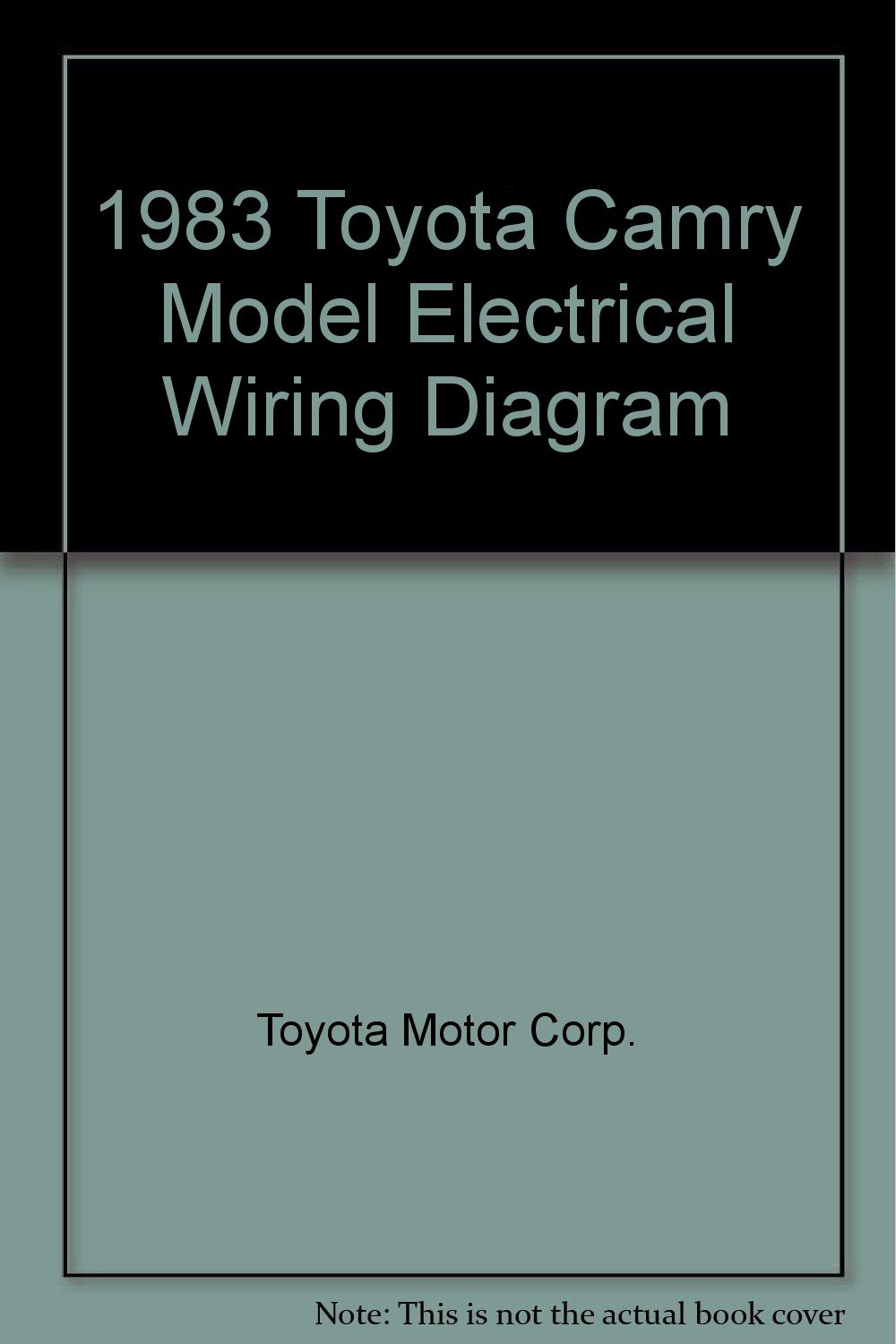 1983 toyota camry model electrical wiring diagram toyota toyota alternator wiring 1983 toyota wiring diagram #15