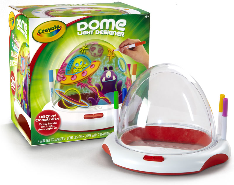 Crayola Dome Light Designer Toys Games