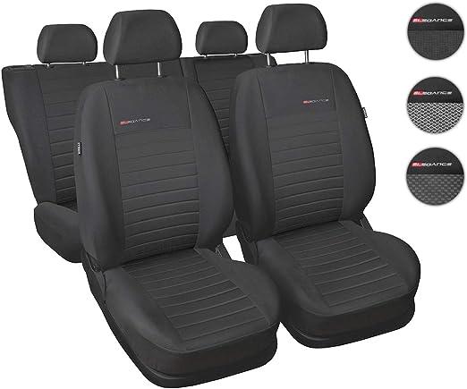 BMW Serie 3 Schwarz Universal Autositzbezüge Sitzbezüge Sitzbezug Bezug Comfort