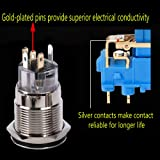 ESUPPORT Stainless Steel 19mm 12V 5A Power Symbol