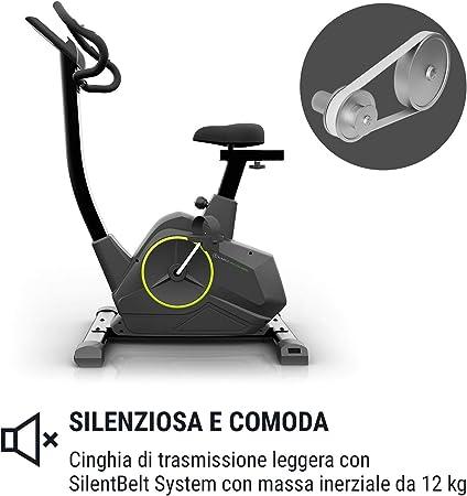 Klarfit Epsylon Cycle KC1 - Bicicleta estática, Sistema de Freno ...