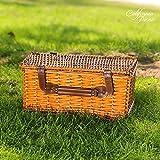 Picnic Basket for 4 Person | Red Picnic Hamper