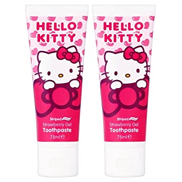 c0c91dfd9 Hello Kitty Toothpaste Set Of 2 Toothpaste Kids Children Oral & Dental  Care: Amazon.co.uk: Health & Personal Care