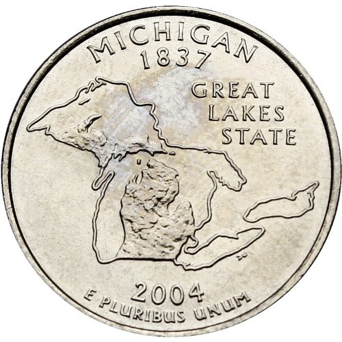 2004-D Michigan BU State Quarter
