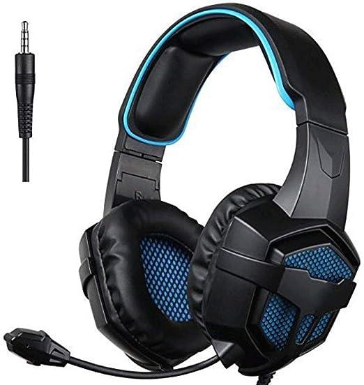QJGhy Gaming Headset, Auriculares multiplataforma sobre la Oreja ...