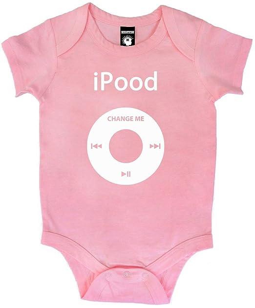 e3d8cf3ed Kiditude iPood Baby Onesie Bodysuit Romper