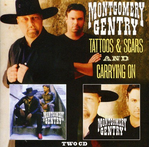 Tattoos Scars Carrying Montgomery Gentry product image