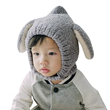 2154e3711 Amazon.com : Baby Earflap Hat, Inkach Toddler Boys Girls Ear Beanie ...
