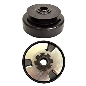 Centrifugal Clutch, Belt Drive With Pulley ABS Belt Style Go Kart